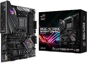PLACA MÃE AMD ASUS ROG STRIX B450-F GAMING DDR4 AM4