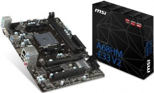 PLACA MÃE AMD MSI A68HM-E33 V2 DDR3 FM2+