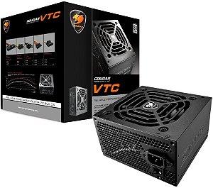 FONTE COUGAR VTC500 500W 80PLUS WHITE CGR BC-500