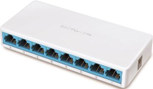SWITCH MERCUSYS 8 PORTAS 10/100MBPS MS108