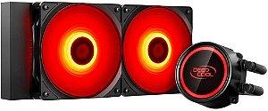 WATERCOOLER DEEPCOOL GAMMAXX L240T RED 240MM DP-H12RF-GL240TR