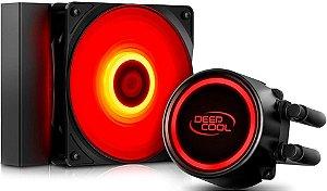WATERCOOLER DEEPCOOL GAMMAXX L120T 120MM RED DP-H12RF-GL120TR