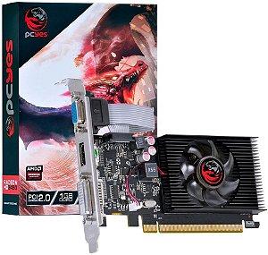 PLACA DE VÍDEO PCYES AMD RADEON HD 5450 1GB DDR3 64BITS