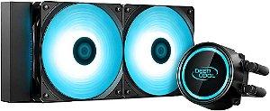 WATERCOOLER DEEPCOOL GAMMAXX L240T BLUE 240MM DP-H12RF-GL240TB
