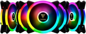 KIT 5 FAN GAMDIAS AEOLUS 120MM RGB M2-1205R