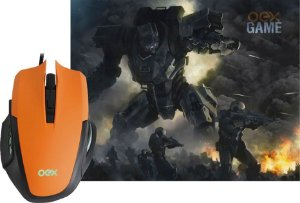 COMBO CLASH OEX MOUSE 3200DPI + MOUSEPAD 290X230MM