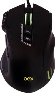 MOUSE GAMER OEX WEAPON MS317 4000DPI