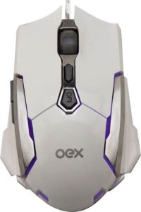 MOUSE GAMER OEX ROBOTIC MS308 4000DPI