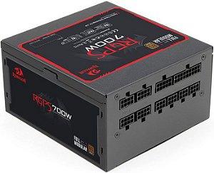FONTE REDRAGON 700W 80PLUS BRONZE FULL MODULAR RGPS-700W GC-PS005