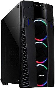 GABINETE MYMAX ECLIPSE RGB MCA-FC-EC09A/RGB - 03 COOLERS INCLUSO