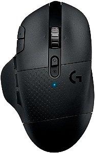 MOUSE GAMER LOGITECH G604 HERO LIGHTSPEED SEM FIO BLUETOOH 16000DPI