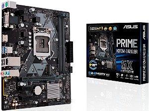PLACA MÃE INTEL ASUS PRIME H310M-E R2.0/BR DDR4 LGA1151