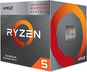 PROCESSADOR AMD RYZEN R5 3400G 3.7GHZ 6MB CACHE AM4