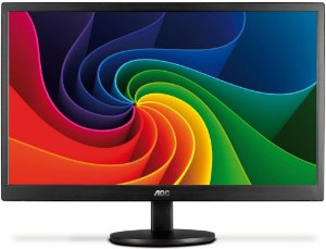 "MONITOR AOC 15.6"" LED VGA USB E1670SWU/WM"