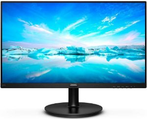 "MONITOR PHILIPS 21.5"" LED FULL HD BORDAS ULTRAFINAS HDMI/VGA 221V8"