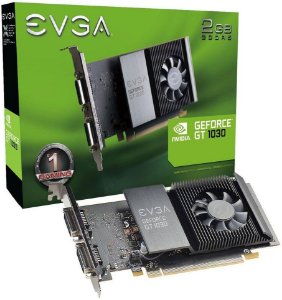 PLACA DE VÍDEO EVGA GEFORCE GT 1030 SC 2GB GDDR5 64BITS
