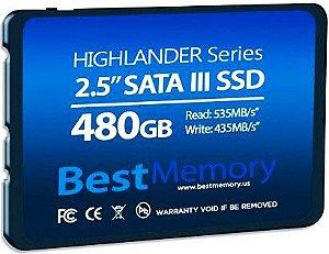 SSD BEST MEMORY 480GB HIGHLANDER SATA III BT-480-535