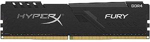 MEMÓRIA DESKTOP HYPERX FURY 8GB 2666MHZ DDR4