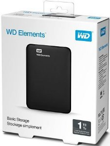 HD EXTERNO 1TB WD ELEMENTS USB 3.0 WDBUZG0010BBK