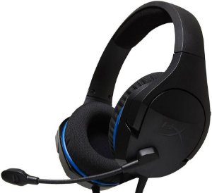 HEADSET HYPERX CLOUD STINGER CORE PS4 GAMER HX-HSCSC-BK
