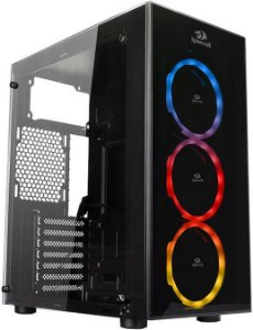 GABINETE REDRAGON THUNDER CRACKER GC-605 RGB - 03 COOLERS INCLUSO