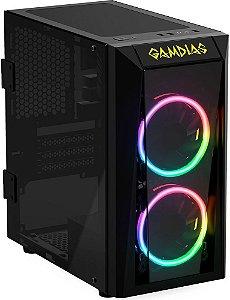 GABINETE GAMDIAS TALOS E1 RGB - 02 COOLERS INCLUSO