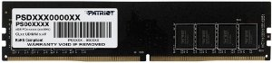 MEMÓRIA DESKTOP PATRIOT SIGNATURE 4GB 2666MHZ DDR4
