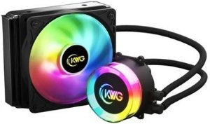 WATERCOOLER KWG CRATER 120MM RGB E1-120 LITE