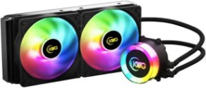 WATERCOOLER KWG CRATER 240MM RGB M1-240 LITE