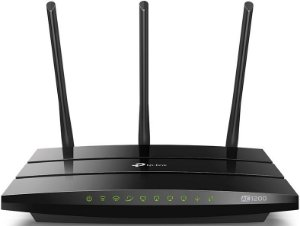 ROTEADOR WIRELESS TP-LINK ARCHER C1200 AC1200 DUAL BAND FULL GIGABIT USB