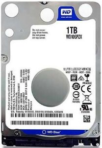 HD NOTEBOOK WD BLUE 1TB 5400RPM WD10SPZX