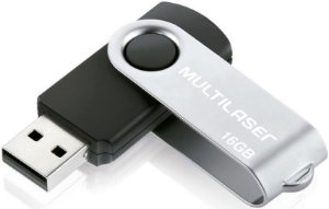 PENDRIVE MULTILASER 16GB TWIST USB 2.0 PD588