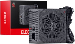 FONTE PCYES 600W ELECTRO V2 80PLUS BRONZE ELV2WHPTO600W