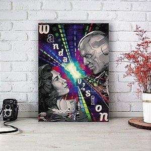 Quadro/Placa Decorativa WandaVision