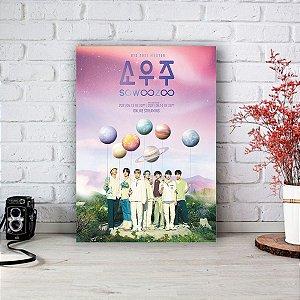 Quadro/Placa Decorativa Pôster BTS 2021 Muster Sowoozoo