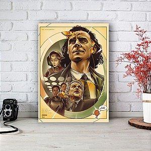 Quadro/Placa Decorativa Loki mod.02 - Série Disney
