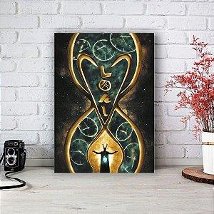 Quadro/Placa Decorativa Loki mod.03 - Série Disney
