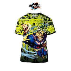 Camisa All Migth - Boku no Hero Academia