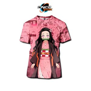 Camisa Nezuko Kamado - Kimetsu no Yaiba