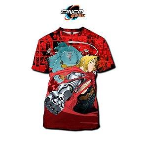 Camisa Alphonse e Edward - Fullmetal Alchemist