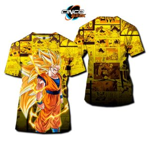 Camisa Goku SSJ3 - Dragon Ball