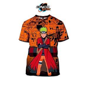 Camisa Naruto Uzumaki modo Sennin - Naruto