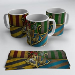 Caneca Casas Hogwarts - Harry Potter
