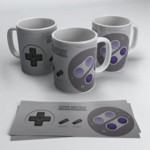 Caneca Controle Nintendo