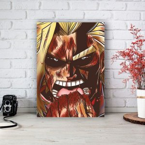 Quadro/Placa Decorativa All Might - Boku no Hero Academia