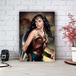 Quadro/Placa Decorativa Mulher Maravilha