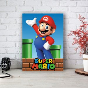 Quadro/Placa Decorativa Mario