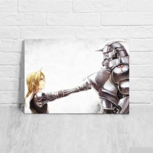 Quadro/Placa Decorativa Fullmetal