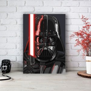 Placa Decorativa Darth Vader Star Wars