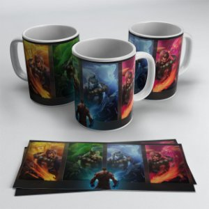 Caneca Udir Guardião Espiritual - League of Legends